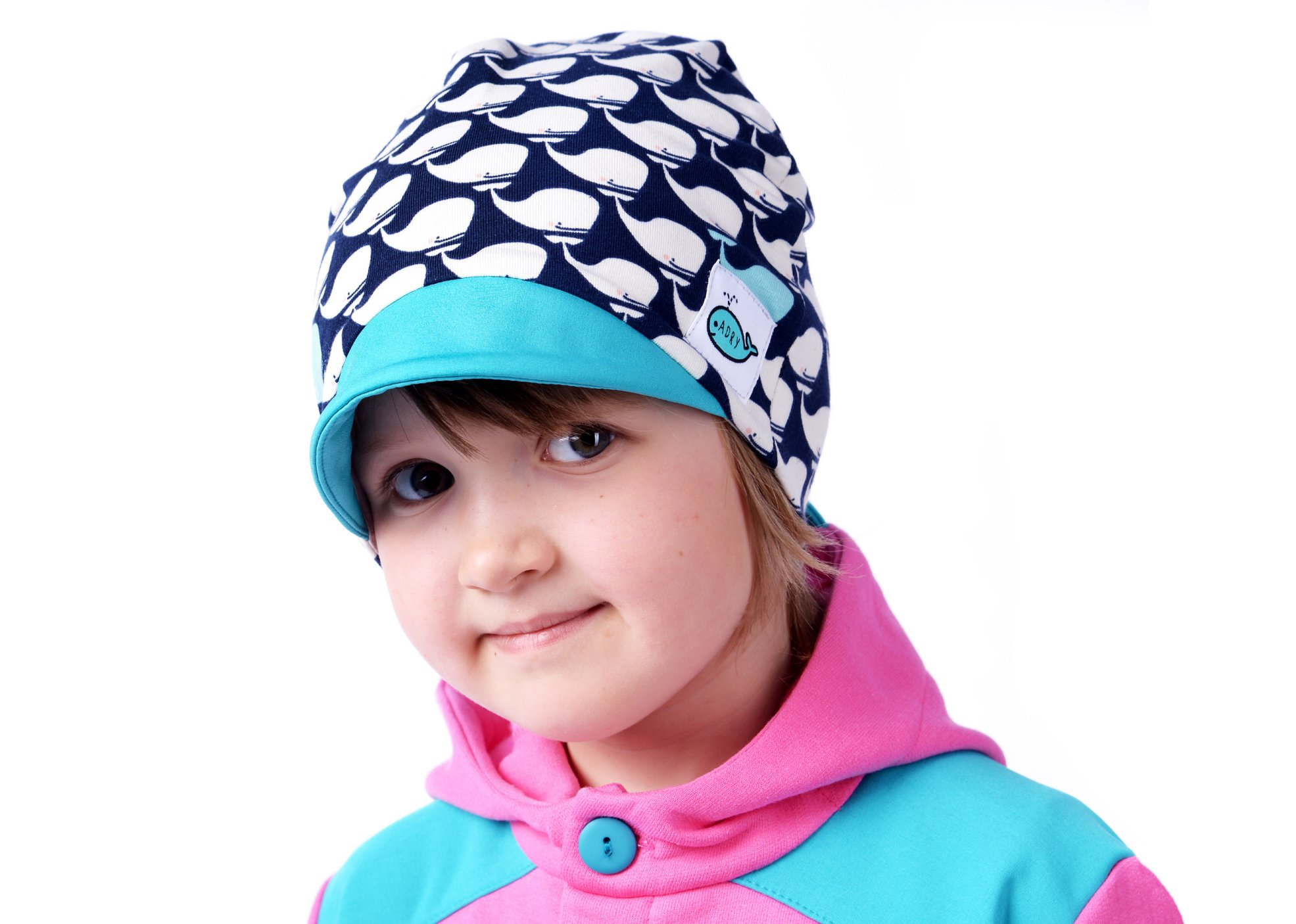 aa8fc6c5e16 Dětská čepice s kšiltem · Dětská čepice s kšiltem