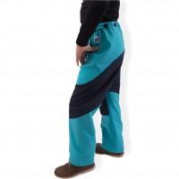 946a269b86e Dětské softshellové kalhoty (tyrkysovo - modré)